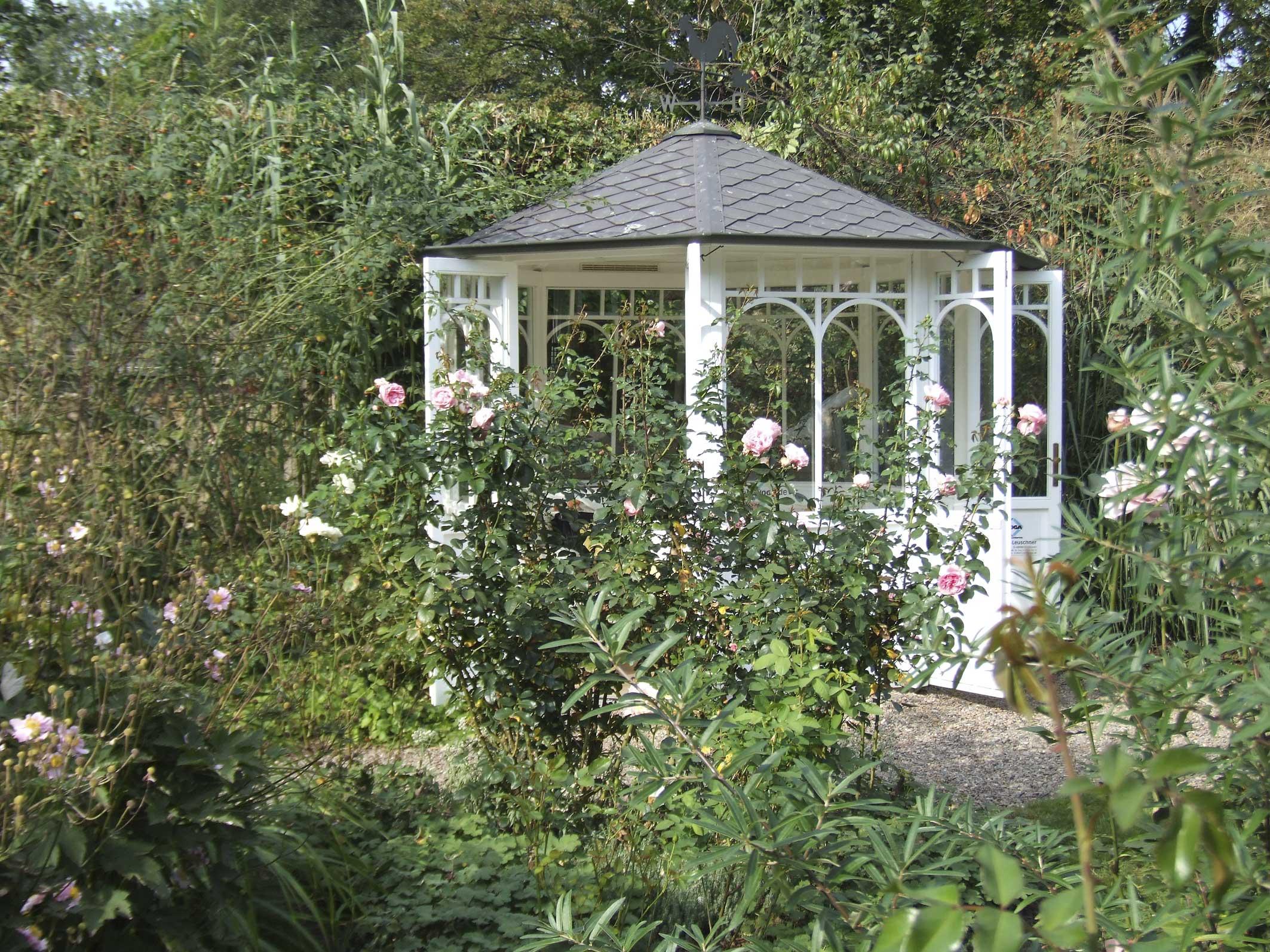 Neu Romantischer Garten Schema