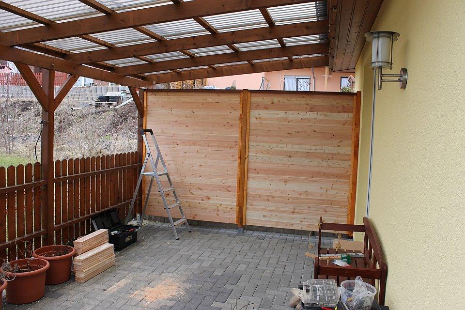 sichtschutz terrasse bauen die neueste innovation der. Black Bedroom Furniture Sets. Home Design Ideas